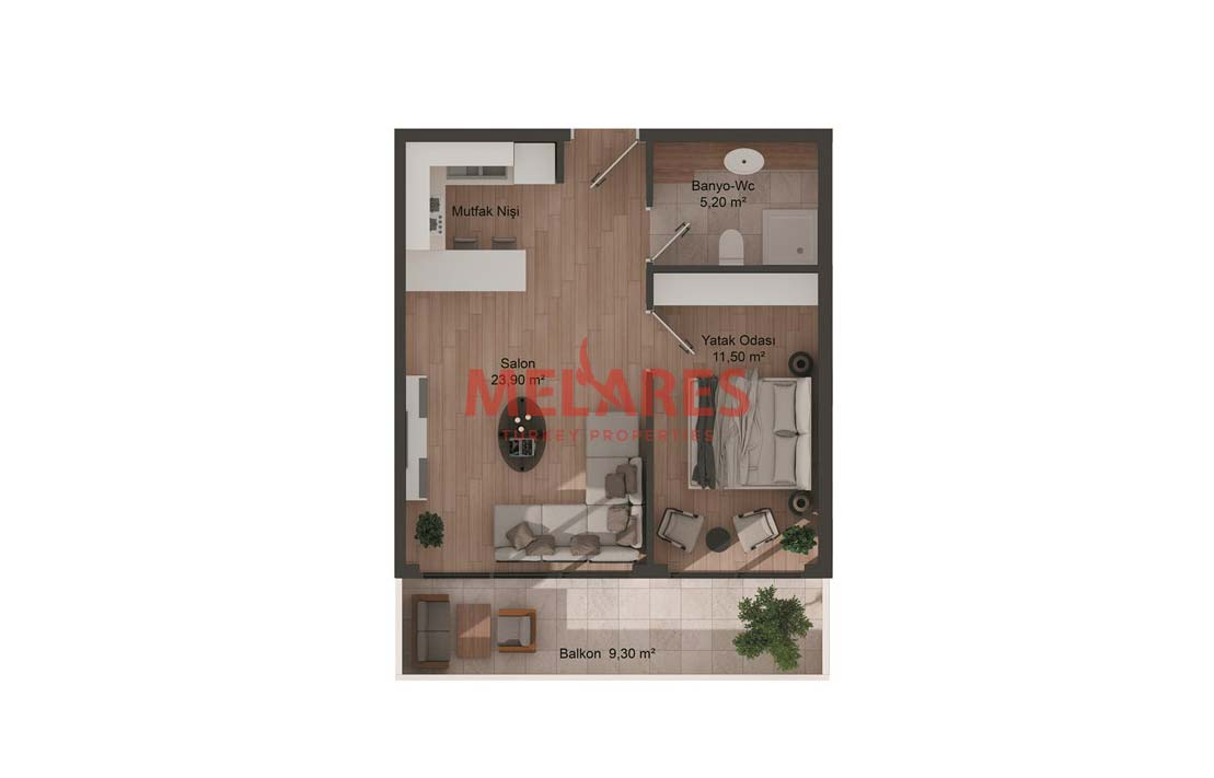 Studio Apt For Sale in Esenyurt districts of Istanbul