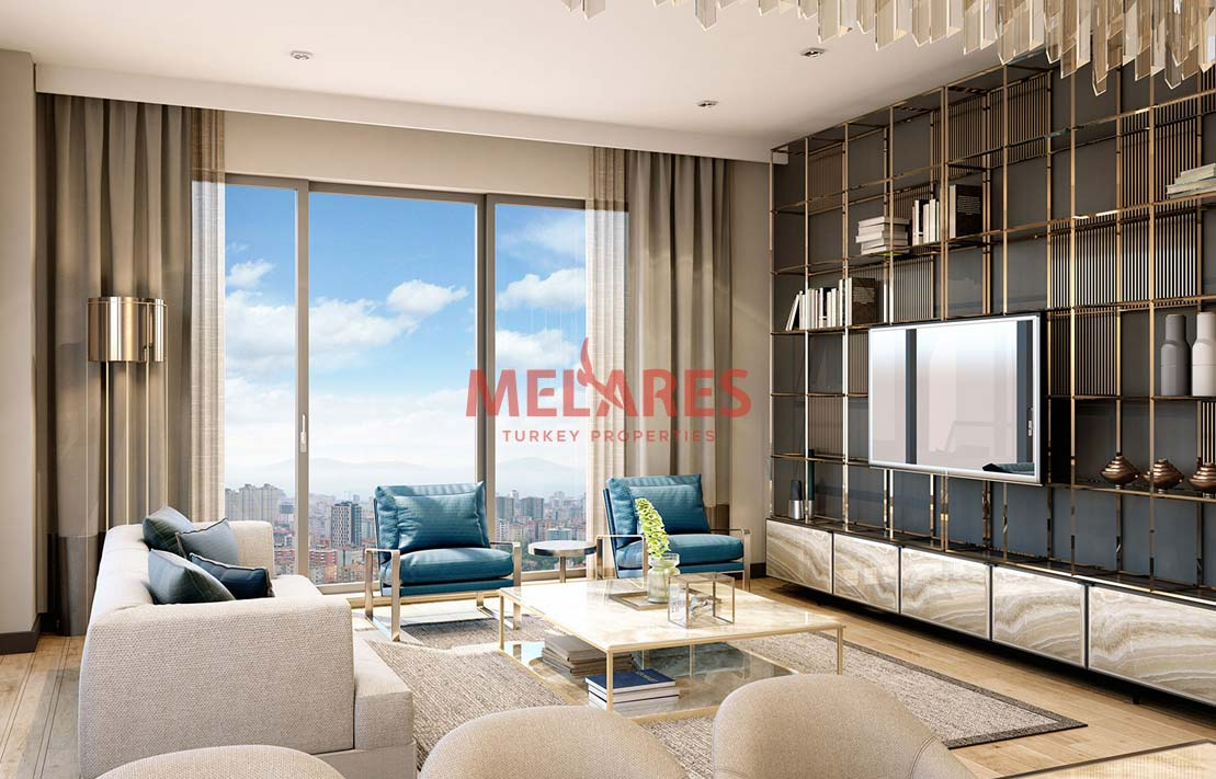 Close to Transportation Property for Sale in Istanbul Kadikoy