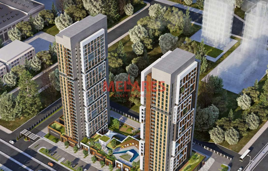 Apartment Close to Metro Station in Istanbul Mahmutbey