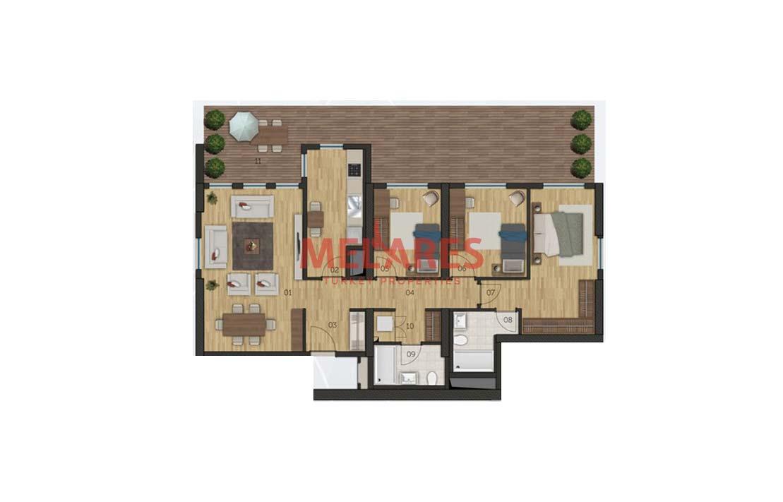 Big Apartment in Istanbul Mahmutbey