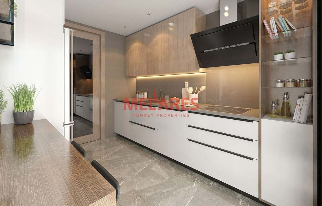 Apartment Suitable for Investment in Istanbul Esenyurt