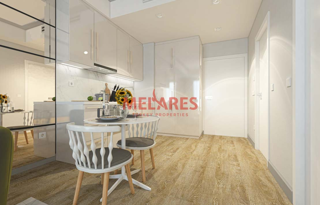 American Kitchen Apt for Sale in Istanbul Kucukcekmece