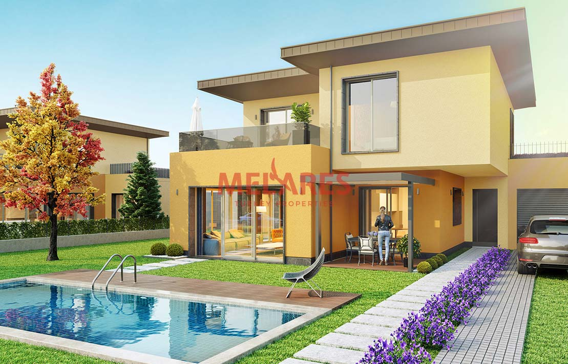 Beautiful Villa for Sale in Istanbul Buyukcekmece