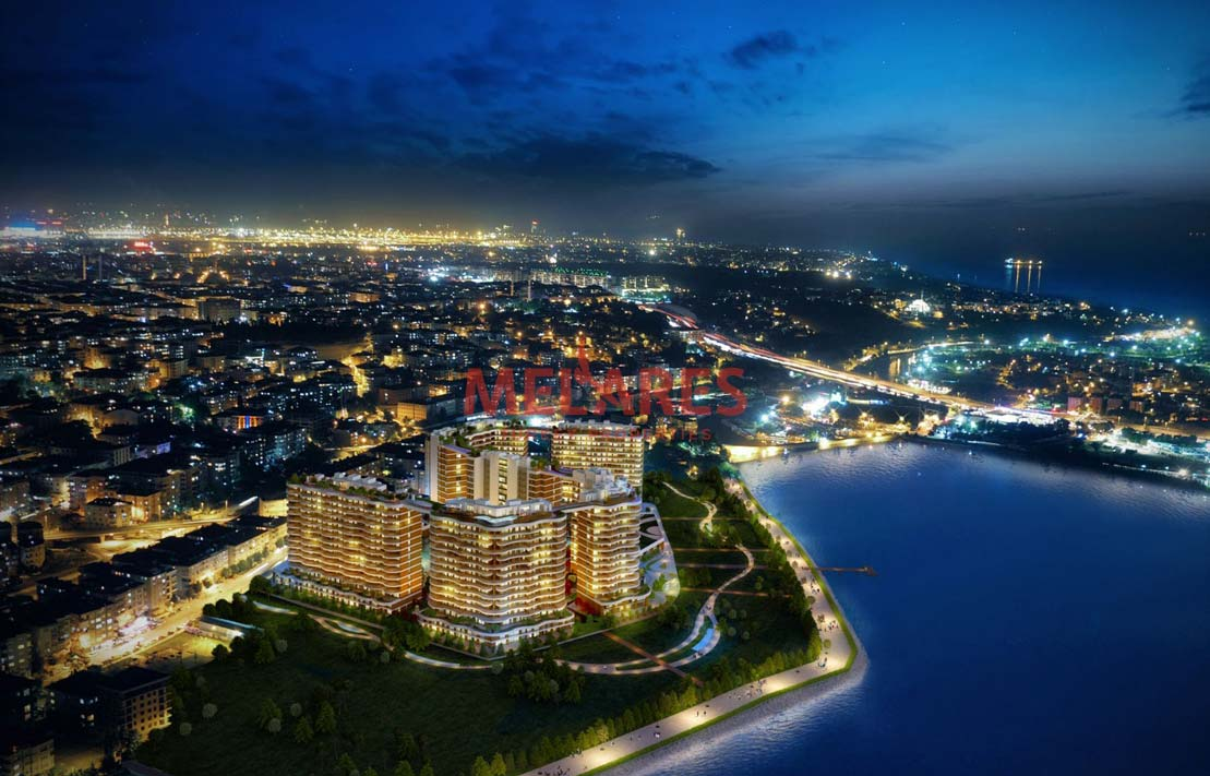 Waterfront Property for Sale in Istanbul Kucukcekmece
