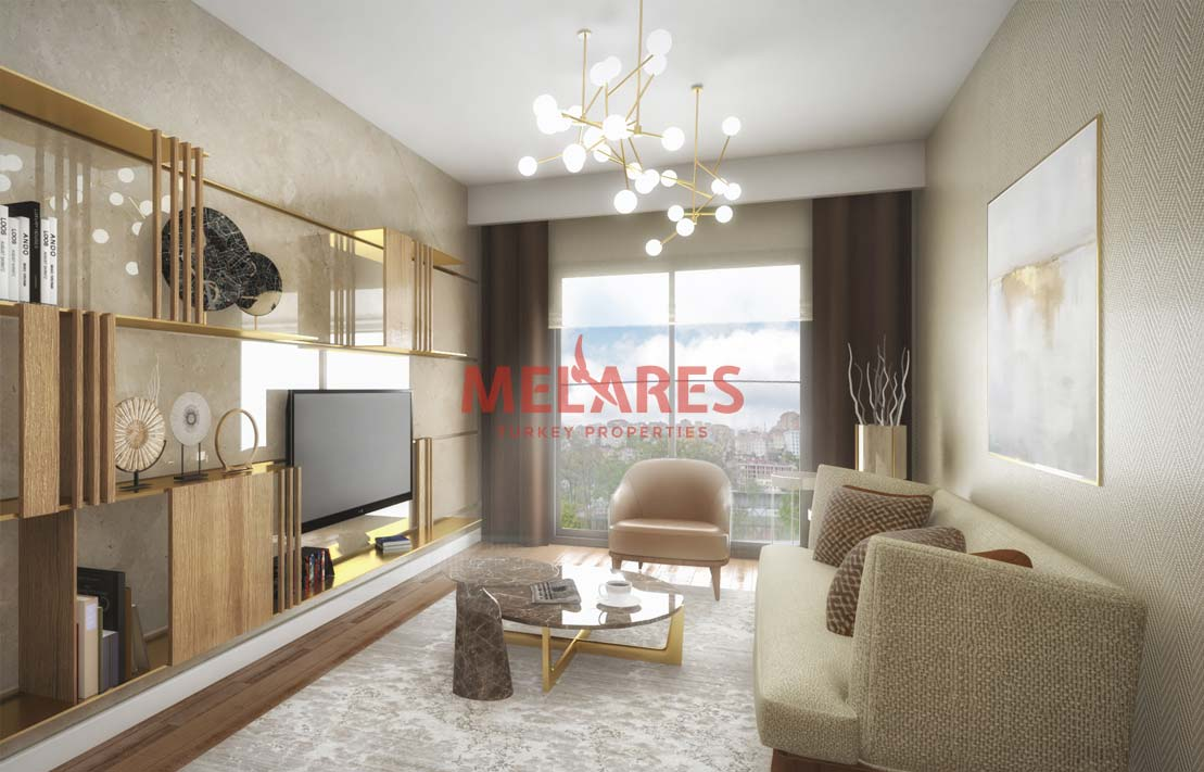 Impressive Duplex Apartments For Sale in Istanbul European Side