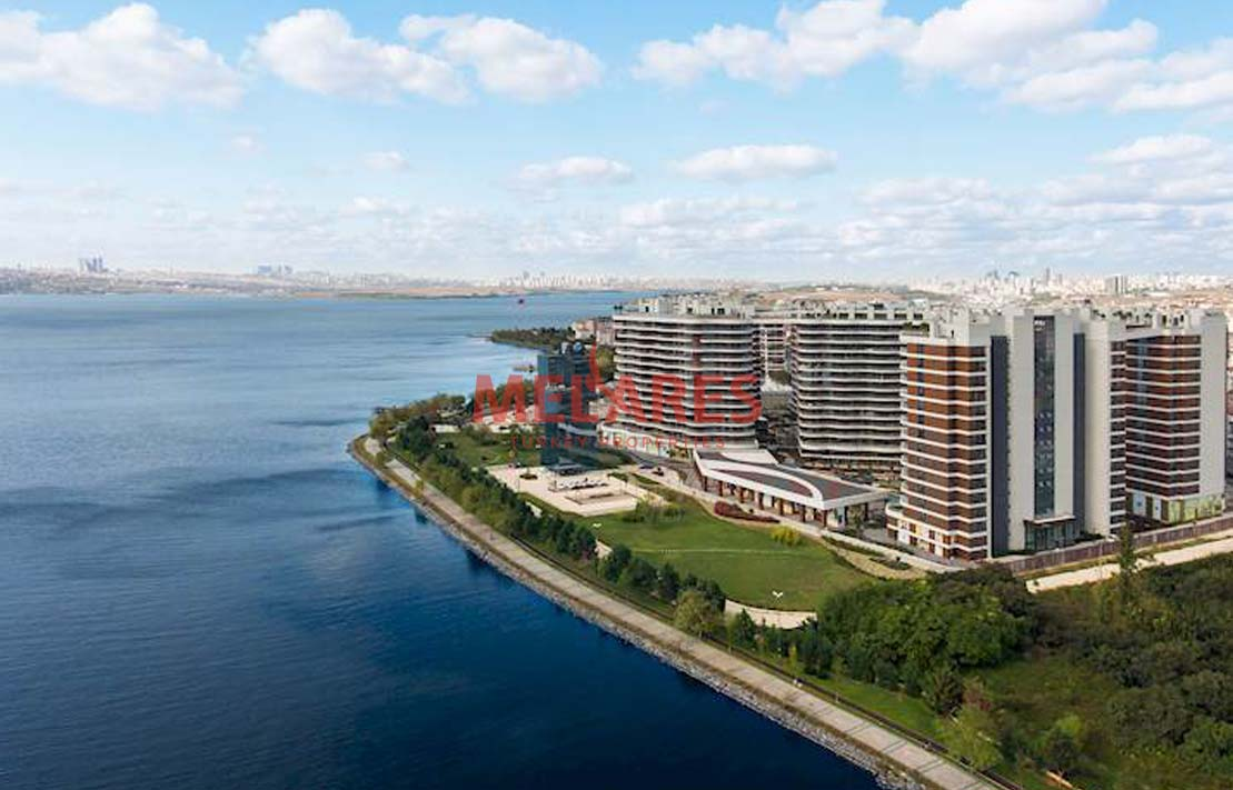 Sea View House for Sale in Istanbul Kucukcekmece