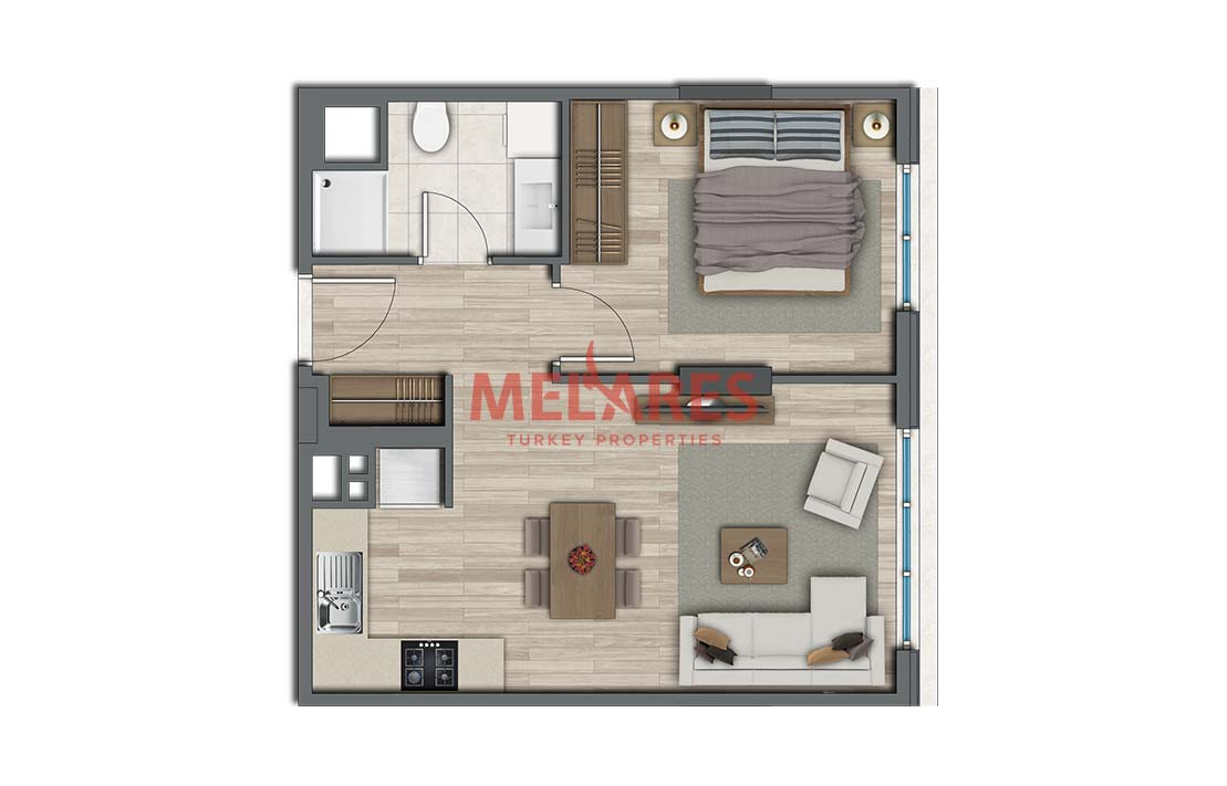 Property for Sale in Istanbul Kadikoy Close to Transportation