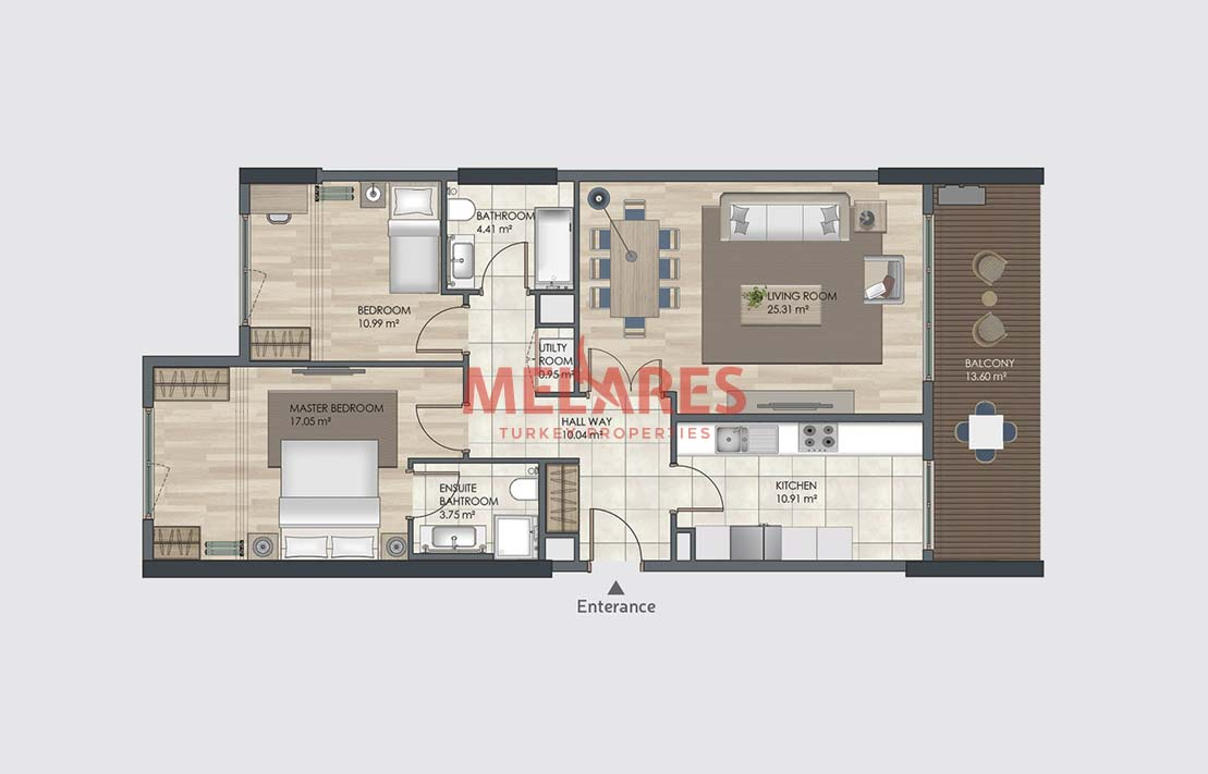Property for Sale in Turkey Istanbul Close to Transportation