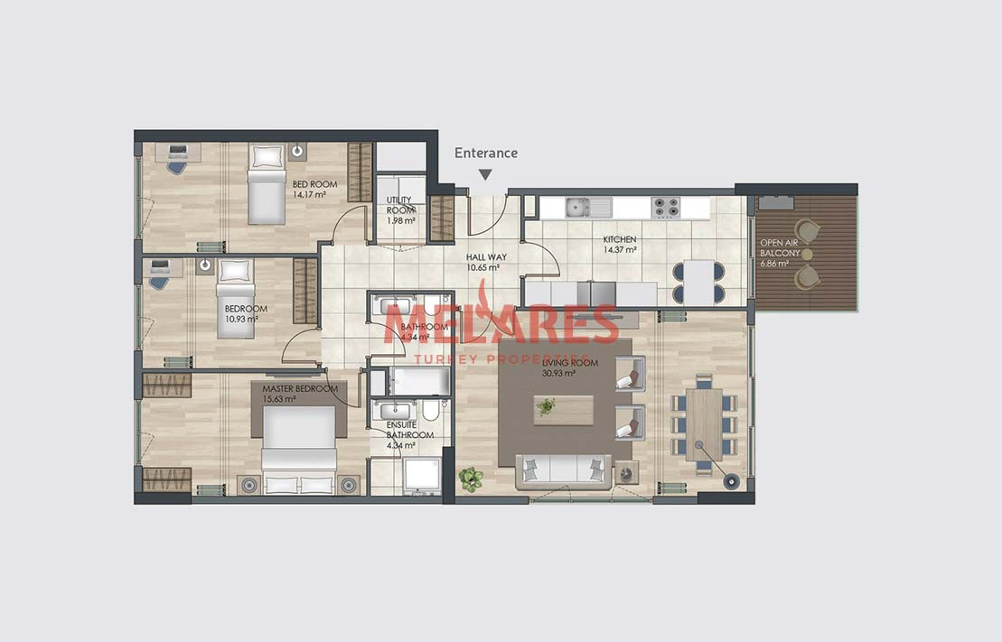 Property for Sale in Istanbul Bagcilar Close to Bus Station
