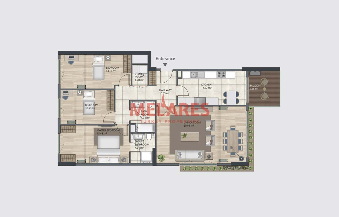 House for Sale in Istanbul Bagcilar Close to City Center