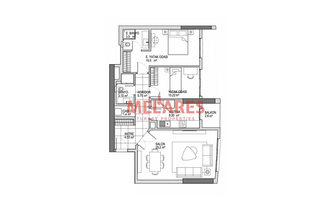 Family House And Suitable For Turkey Residence Permit