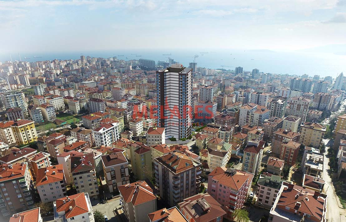 Apt for Sale in Istanbul Kartal Close to Metro Station