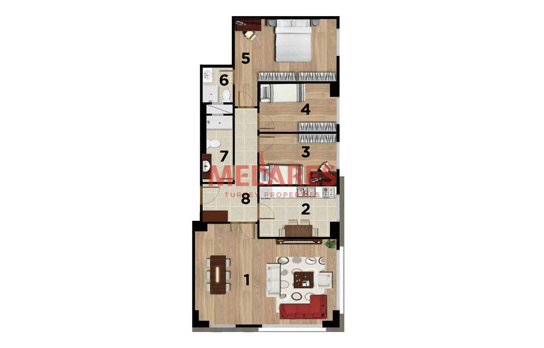 Property for Sale in Istanbul Kartal Close to Transportation