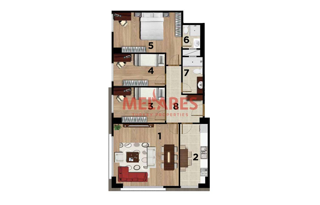 Property for Sale in Turkey Istanbul Close to Sabiha Airport