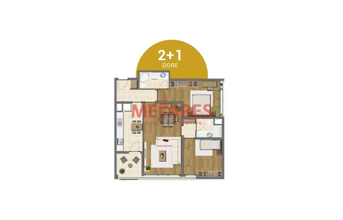 Buy Apartment in The Asian Side of Istanbul With a Variety of Amenities