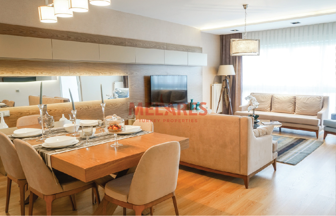 4+1 Luxurious Apartment of Contemporary Design