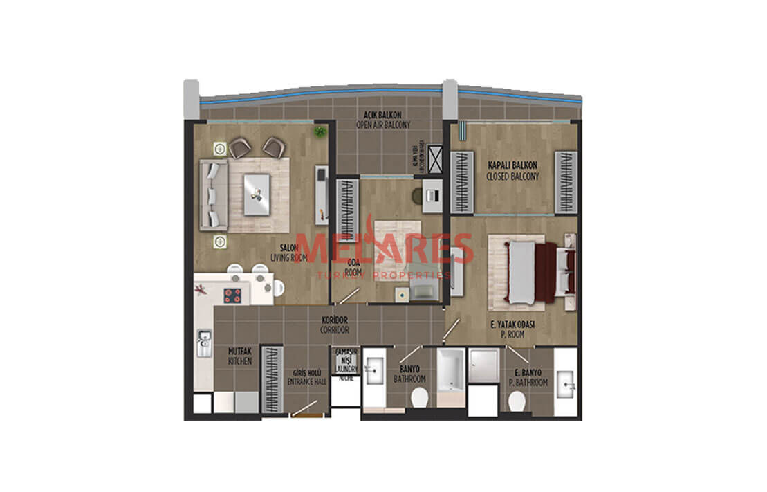 Luxury Apartment for Sale in Istanbul Kartal