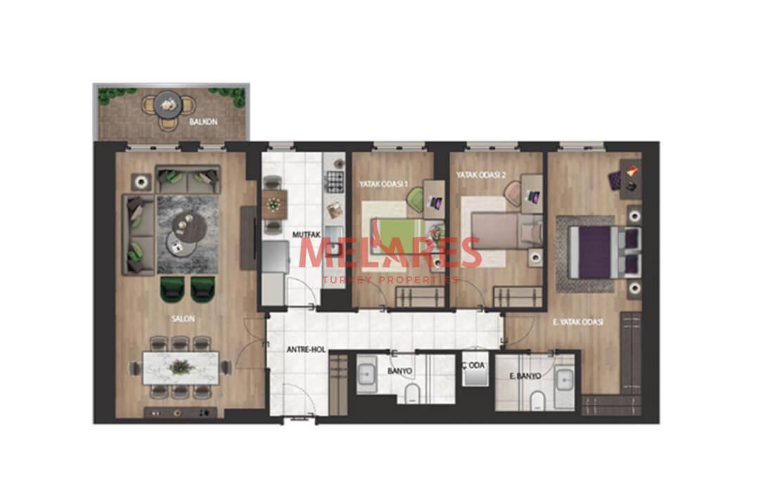 Buy an Amazing Apartmentin Bahcesehir Istanbul