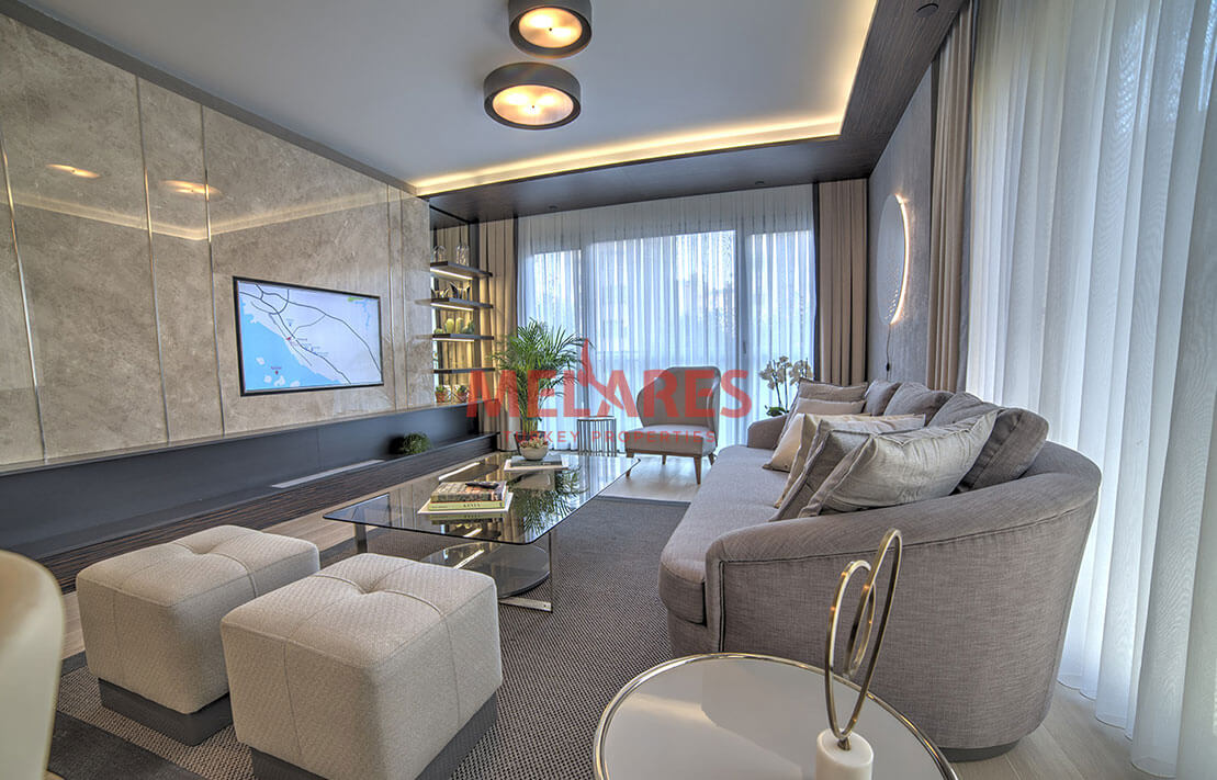 Luxury Apartment with a Panoramic View of the Islands