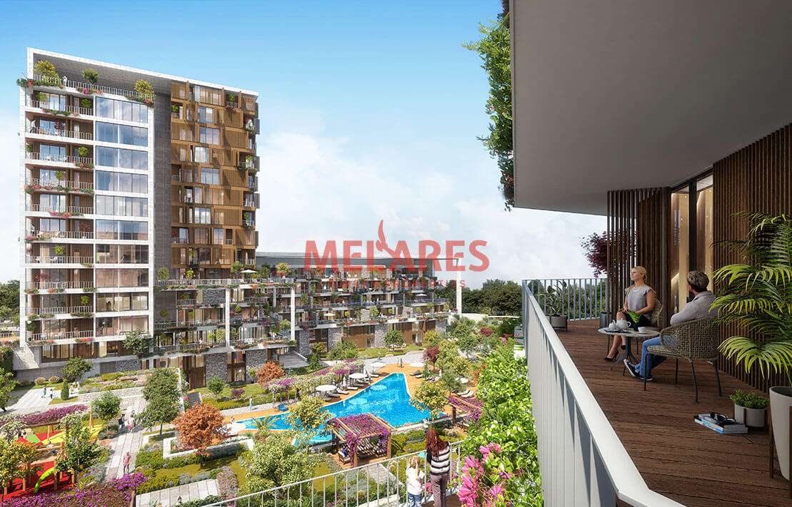 Unique Apartment for Sale in Istanbul Cekmekoy