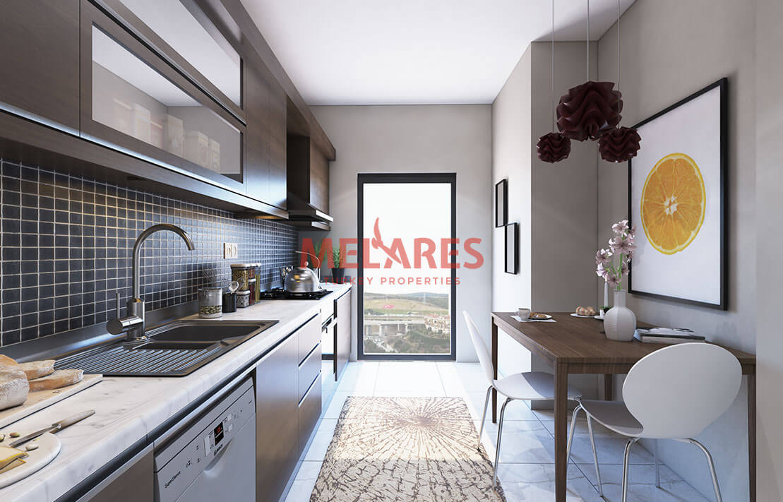 Apartment for Sale with Stunning View in Istanbul Eyup