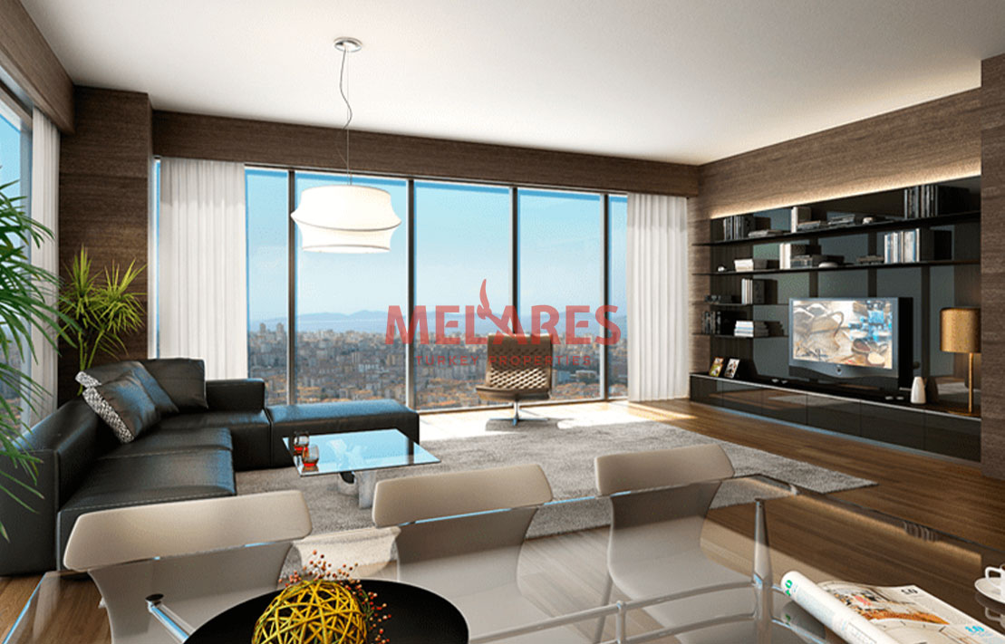 Exquisite Luxury Apartment for Sale in Istanbul Kadikoy