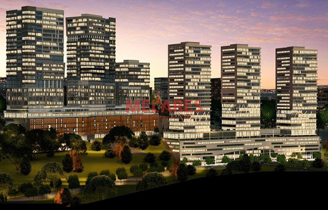 Panoramic Apartment for sale in Istanbul Kadikoy