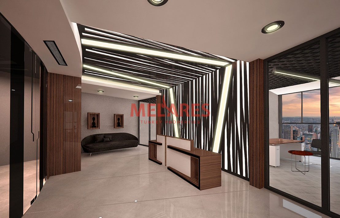 Modern Office for Sale Istanbul Turkey