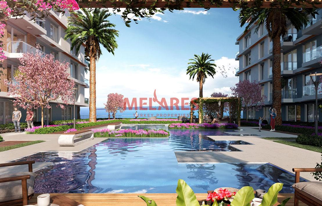Unique Duplex Apartment for Sale in Istanbul Buyukcekmece