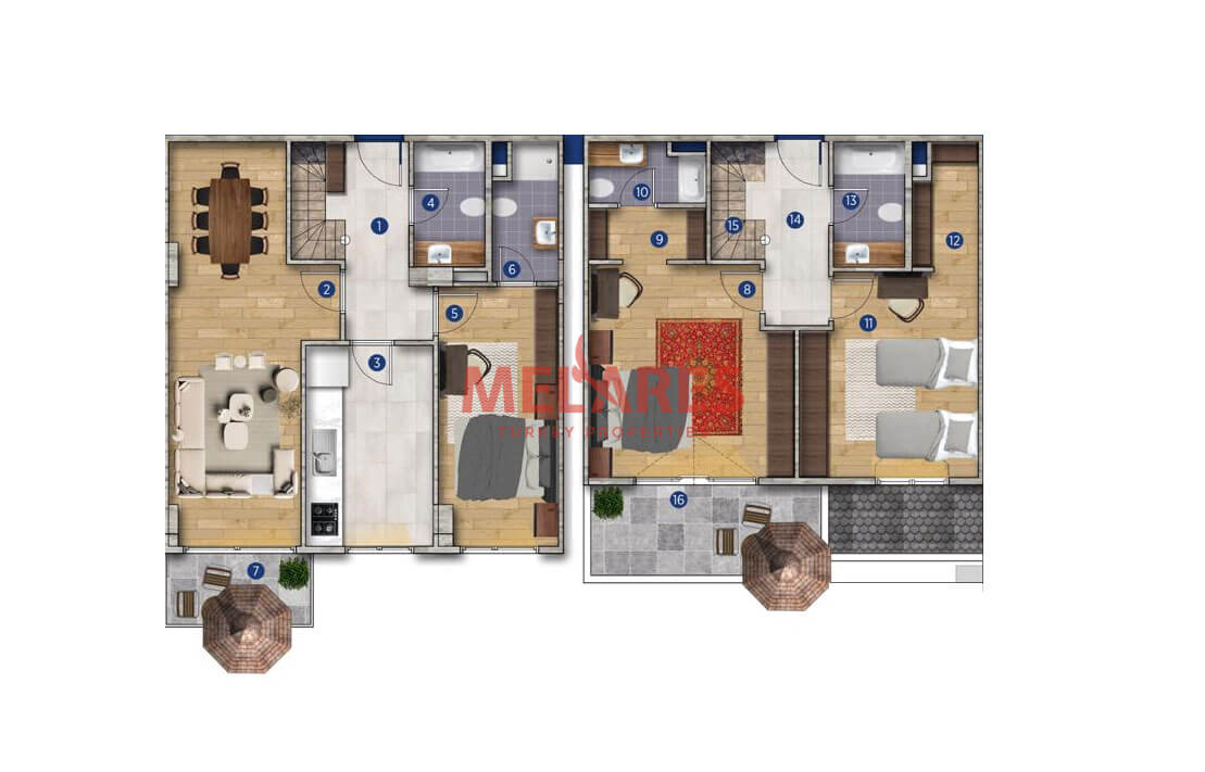 Best Duplex Property for Sale in Istanbul Buyukcekmece