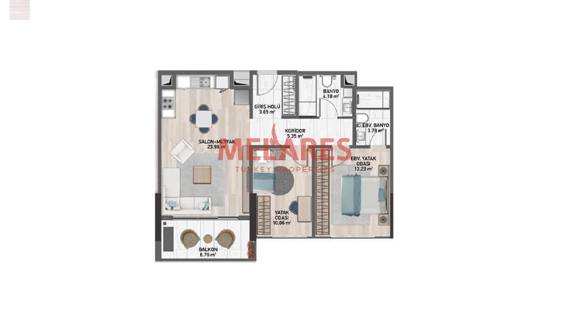 Best Investment Apartment for Sale in Istanbul Kucukcekmece