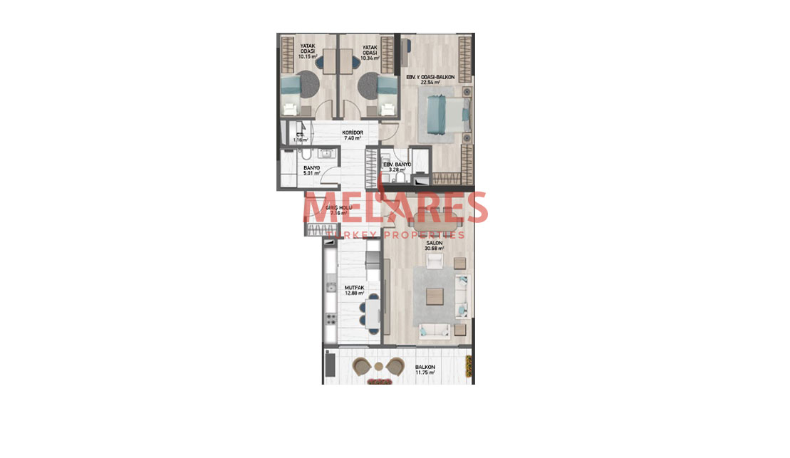 Comfortable Apartment for Sale in Istanbul with a Great Location