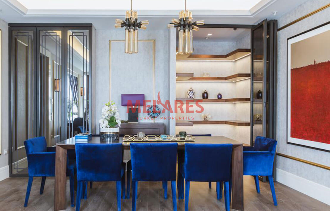 Spacious Residence with a panoramic view in Istanbul Basaksehir