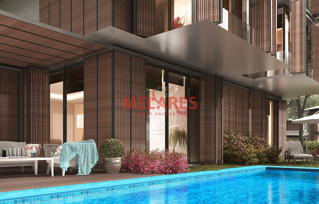 Duplex Villa for Sale in Istanbul Beykoz with Stunning View