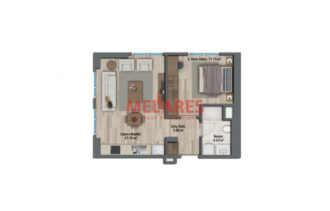 Luxury Apartment for Sale in Maltepe