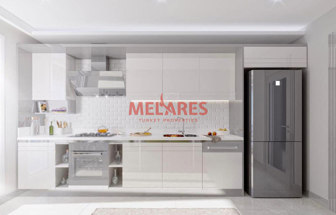Affordable Duplex Apartments In a Developing Region in Istanbul