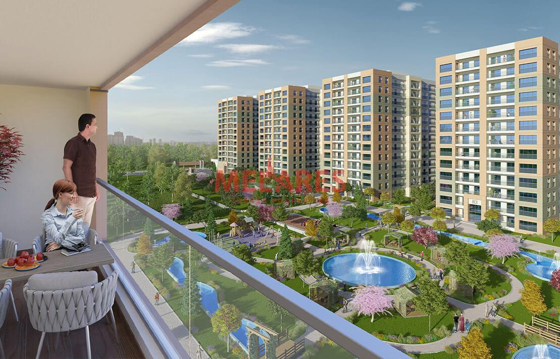 Investment apartments for sale in Istanbul Beylikduzu