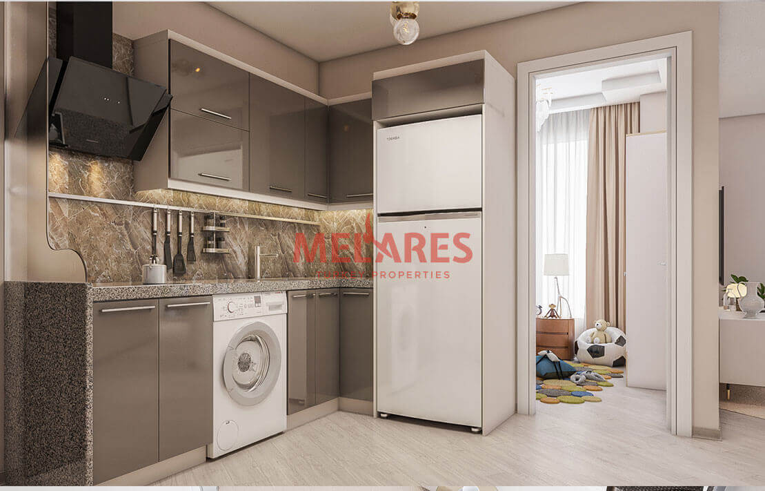 Modern and Amazin Apartment for Sale in Esenyurt