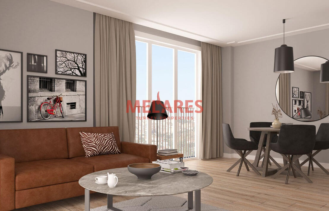 Residence for Sale in Besiktas Istanbul with an amazing view of the city