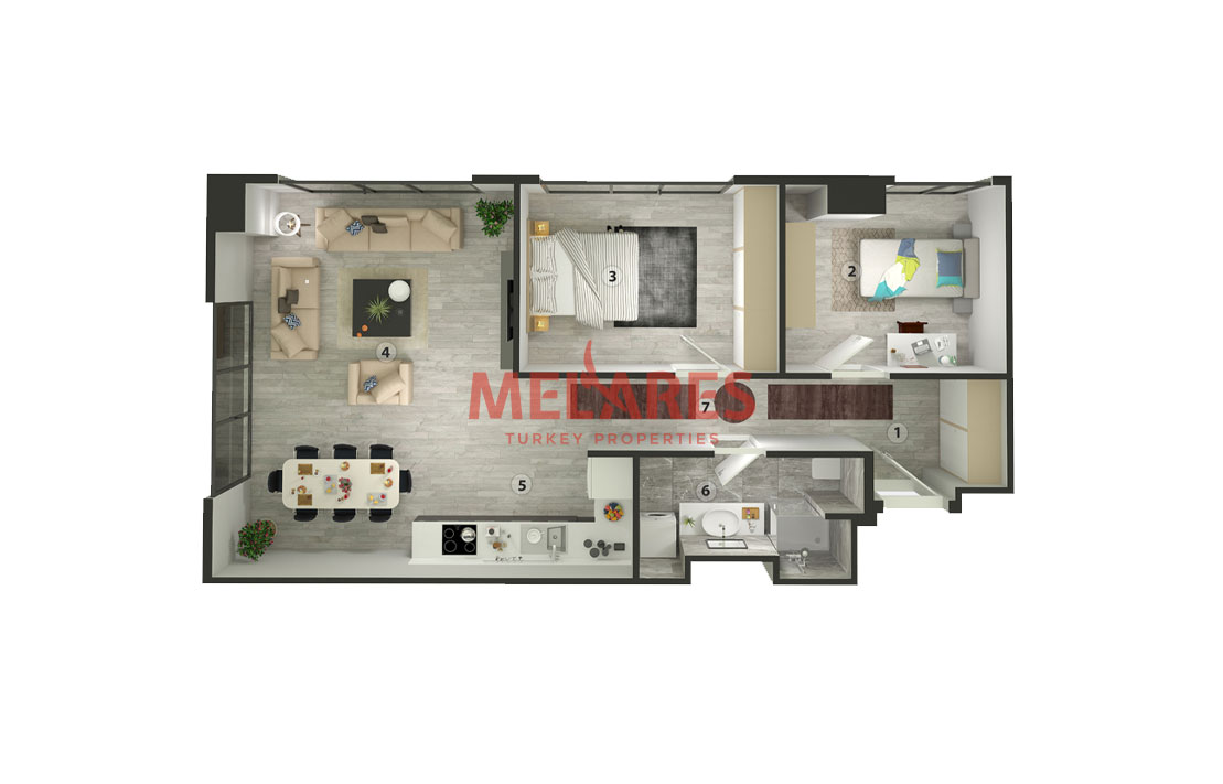 House for Sale with Stunnig Interior in Istanbul