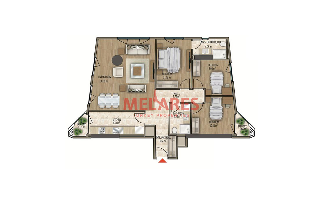 Property for Sale in a Superb Location of Istanbul