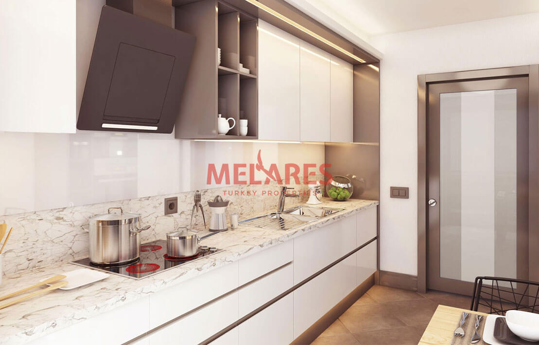 Spacious Apartment for Sale in Istanbul in Umraniye