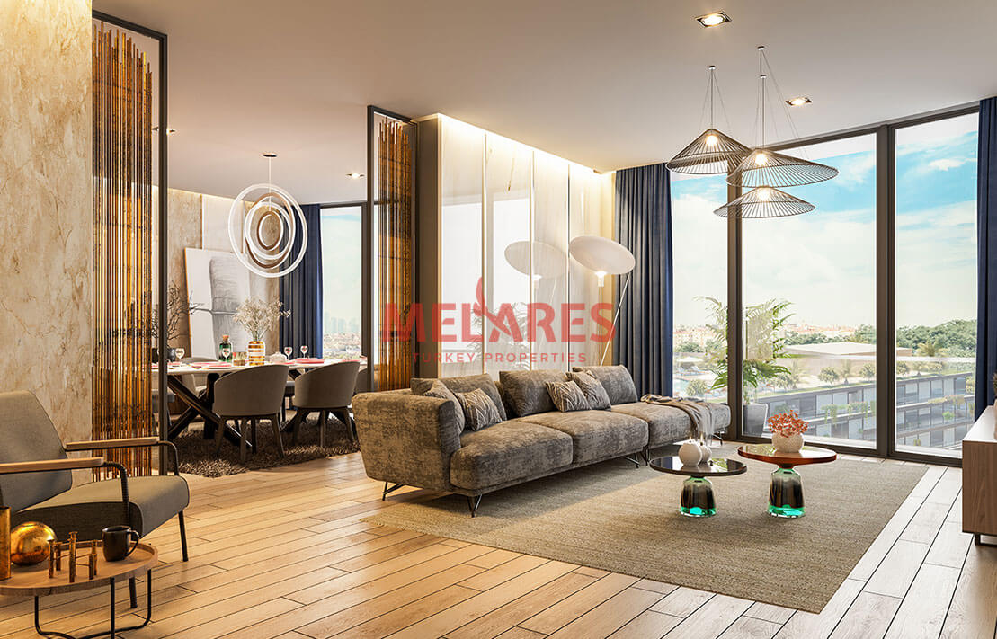 Unique and Big Apartment for Sale in Kadikoy