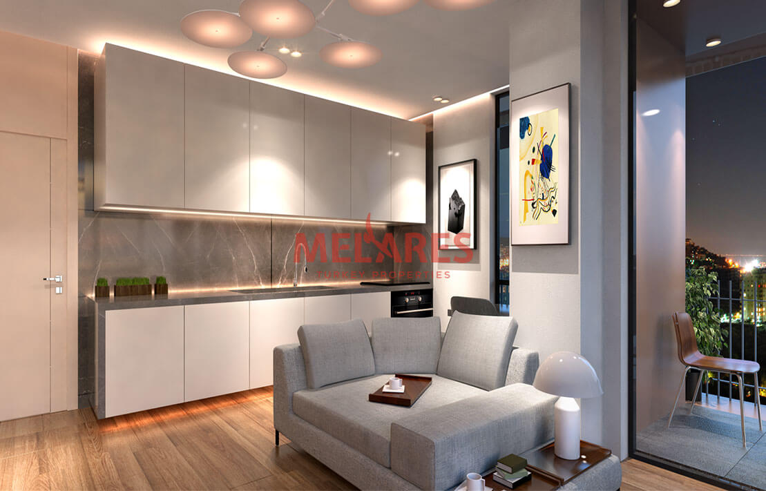 Perfectly Located Luxury Apartments for Sale in Kagithane