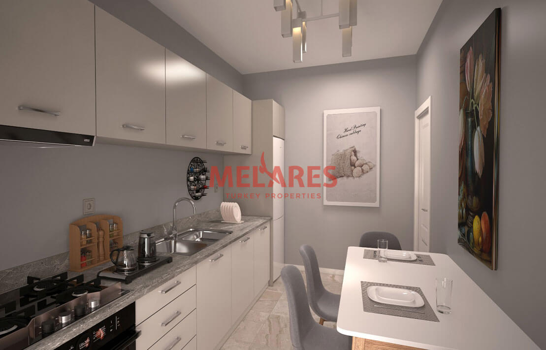 Large and Beautiful Apartment for Sale in Istanbul Umraniye