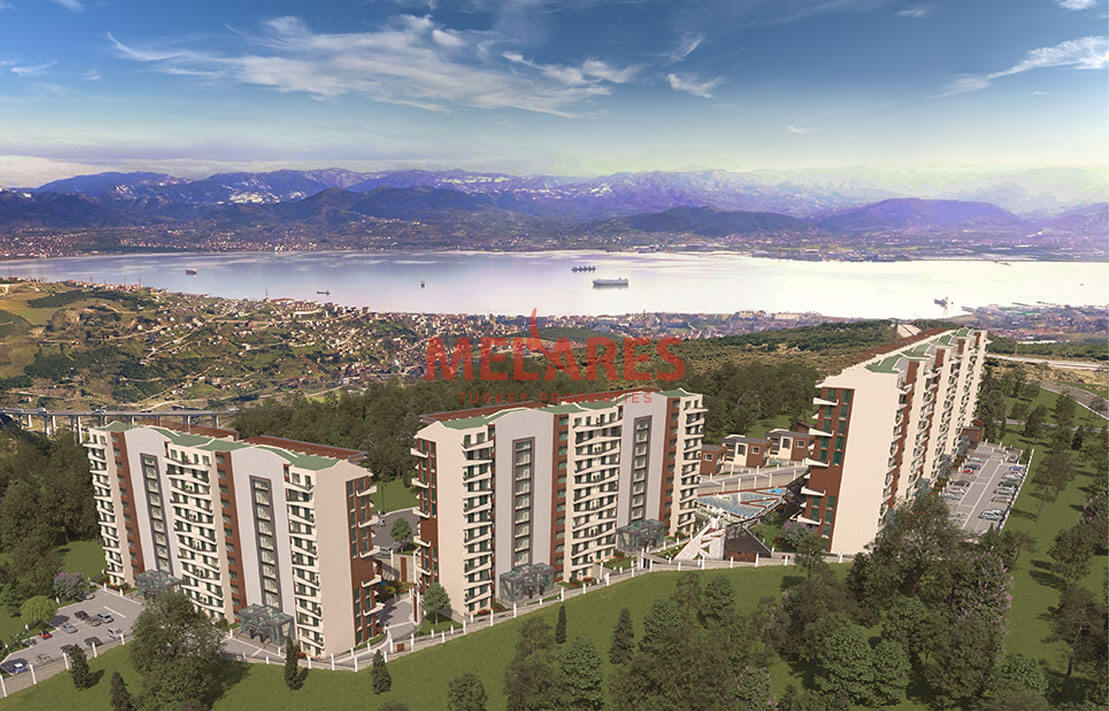 Luxury Property for Sale Intertwind with Nature in Izmit