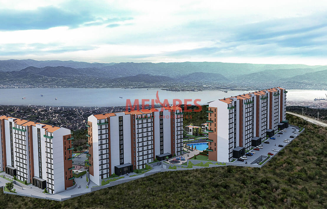 Villa for Sale in Izmit Turkey with Awesome View of Both Forest and Sea