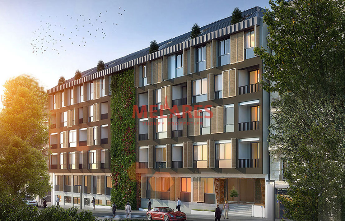 Experience a Modern Life in Duplex Apartment for Sale in Sisli Istanbul