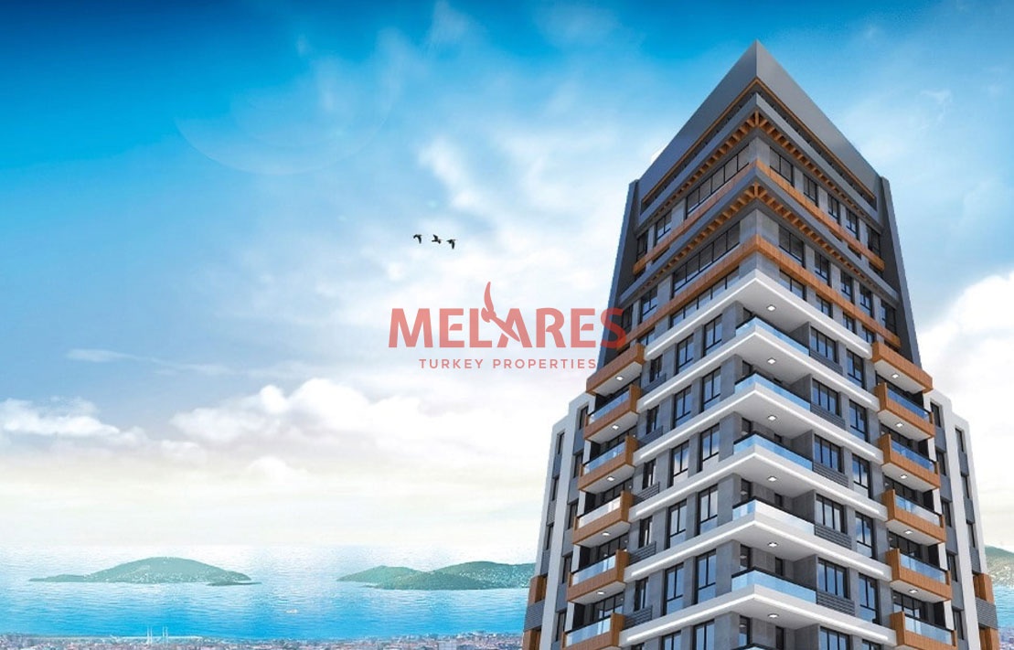 Apartment with Stunning View of the Marmara Sea and Prince Islands