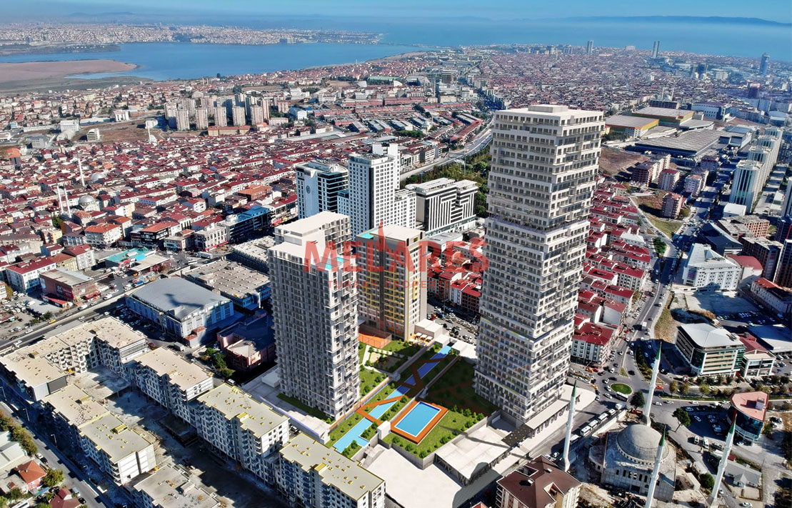 Stunning Apartment for Sale in Istanbul with Sea view